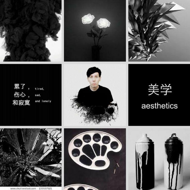 Shattered Black - Phil Aesthetic