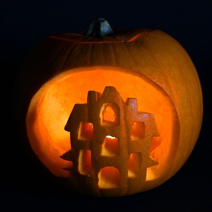 5 Easy Pumpkin Carving Ideas With Stencils. Part 97