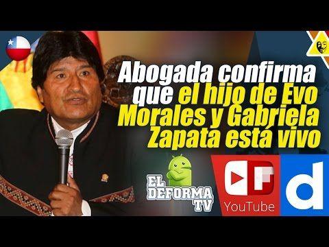 1 Abogada confirma que el hijo de Evo Morales y Gabriela Zapata está vivo