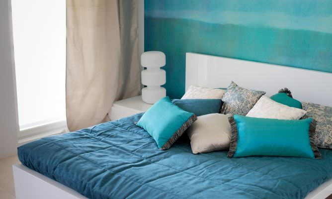 Colores para el dormitorio: azul: Colors Azul, Blue Rooms, Bedrooms Paintings Colors, Guest Bedrooms, Google Search, 2Nd Bedrooms, Blue Bedrooms, Bedrooms Ideas, Calm Bedrooms