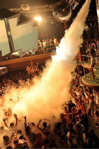 Ibiza clubbing - Amnesia - Home of Cocoon, Cream, Music On & Matinee
