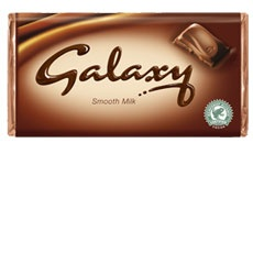 Galaxy Chocolate Bar Smooth Milk  http://www.galaxychocolate.co.uk/products/