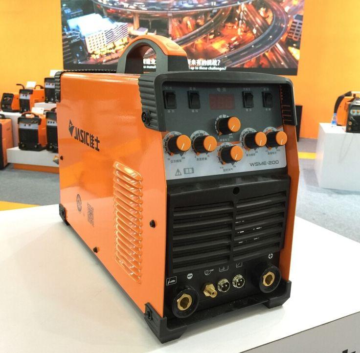 447.00$  Buy here - http://aliwkd.worldwells.pw/go.php?t=32758312294 - JASIC WSME-200 TIG-200P AC DC tig welding machine with accessories 447.00$