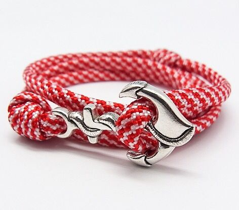 Red and White Anchor for your wrist (^_-)http://shopjay.com/products/detail.php?product_id=87春だよ、春、ちょろっと手首にラッキーチャーム!#mar