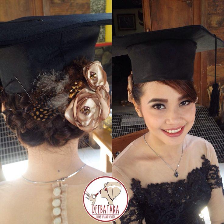 Indonesian graduation with kebaya gown ❤️