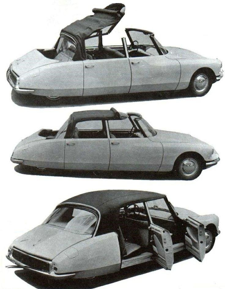 Citroën DS19 Reutter S Cabriolet 4 portes by Reutter 1960 dite 'Citroën Reutter S Cabriolet' (Stuttgarter Karosseriewerk Reutter & Co. GmbH, der Betrieb wurde 1906 vom Wilhelm Reutter gegründet)