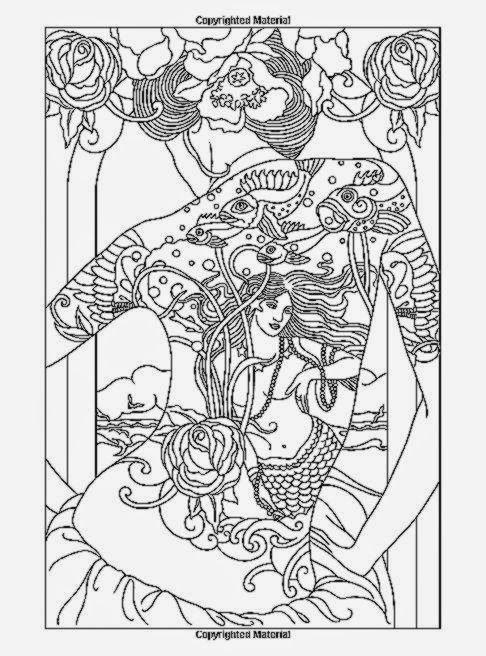 body art tattoo designs coloring book cool coloring pages - Body Art Tattoo Designs Coloring Book