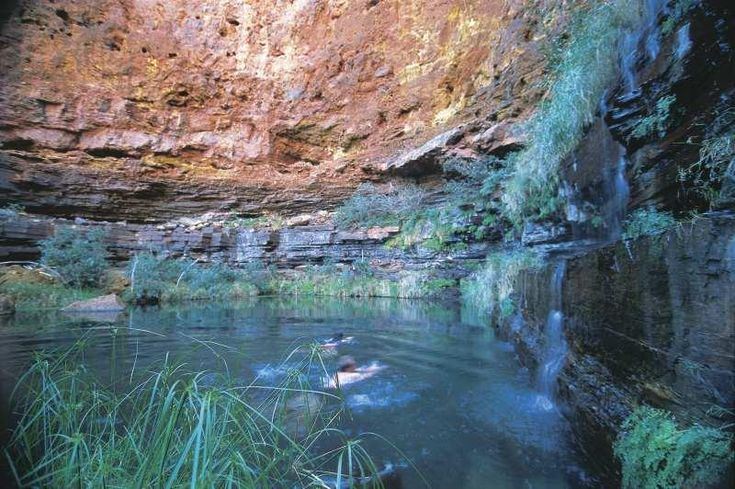 Parco nazionale Karijini nell'Australia Occidentale                                          A great place for a dip.