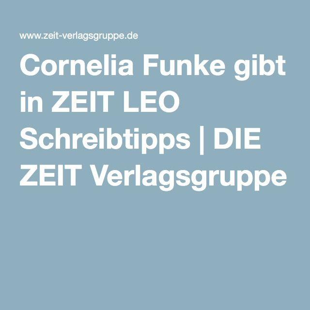 Cornelia Funke gibt in ZEIT LEO Schreibtipps   DIE ZEIT Verlagsgruppe