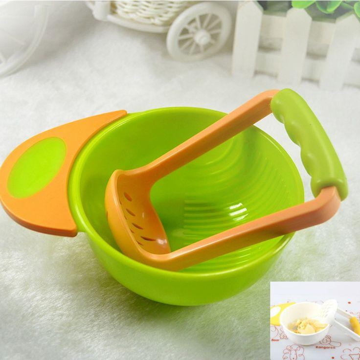 SMDPPWDBB Bayi makan set bayi buah Masak Untuk Bayi Anak Keperawatan pengumpan Makanan Bayi Penggiling mangkuk Anak Perusahaan Buah Makanan Feeder