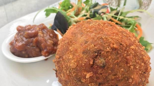 Pumpkin balls from Seven Cafe