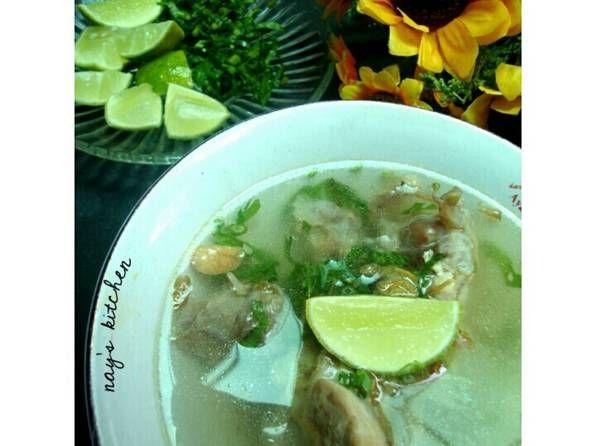 Resep Sop Ayam Kampung A La Pak Min Oleh Rainbow Plate Resep Masakan Bawang Bombay Ayam