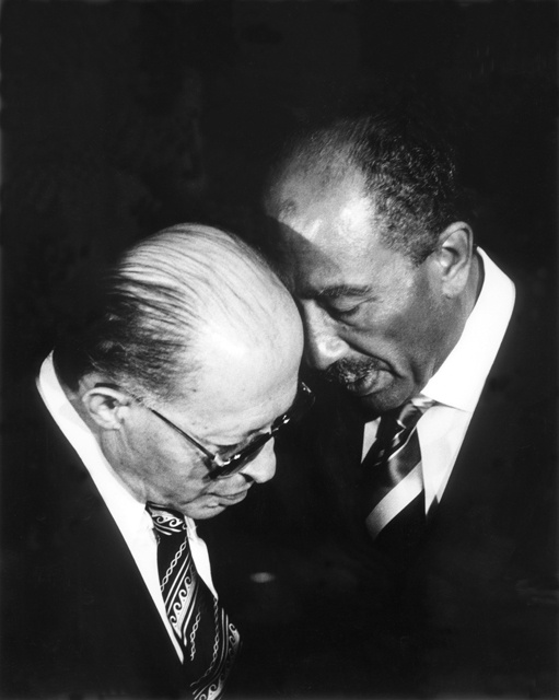 September 7, 1978 Anwar Sadat and Menachem Begin sign the Camp David Accords (peace with Egypt), first time an Arab nation recognized the State of Israel