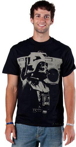 Star Wars Shirts  Boom Box Darth Vader Shirt