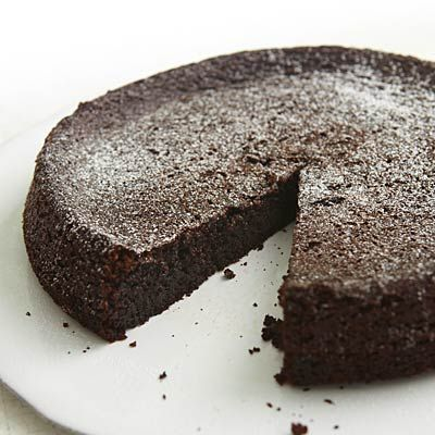 Nigella Lawson's Chocolate Olive Oil Cake   health.com
