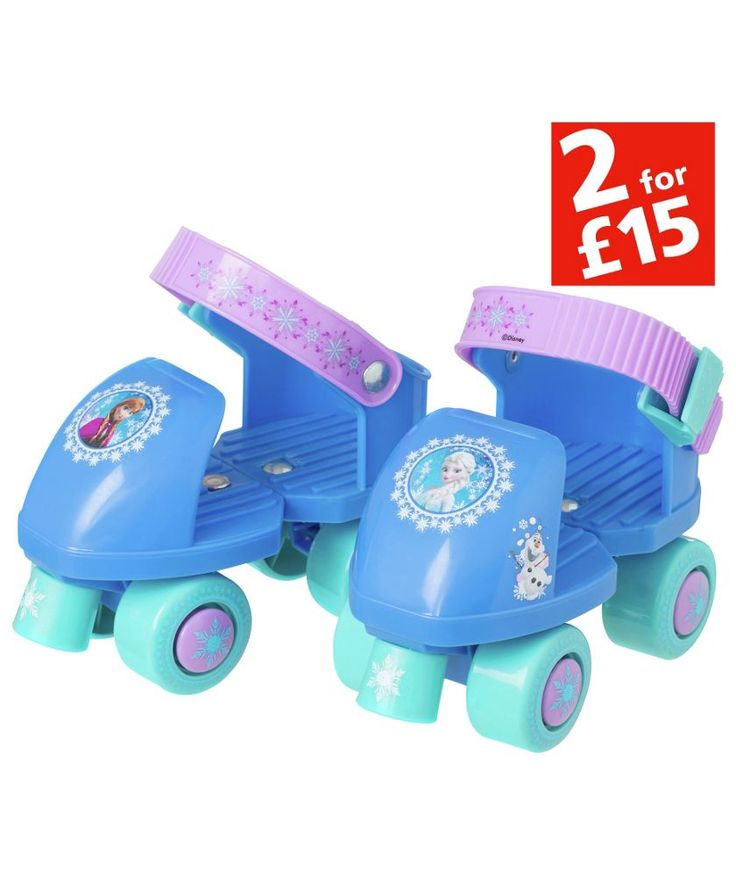 Buy Disney Frozen Quad Skates at Argos.co.uk - Your Online Shop for 2 for 15 pounds on Toys, Skates and inline skates.