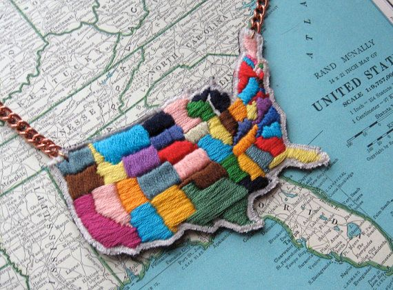 Best STATES Images On Pinterest States United States And - Us state map diy photos