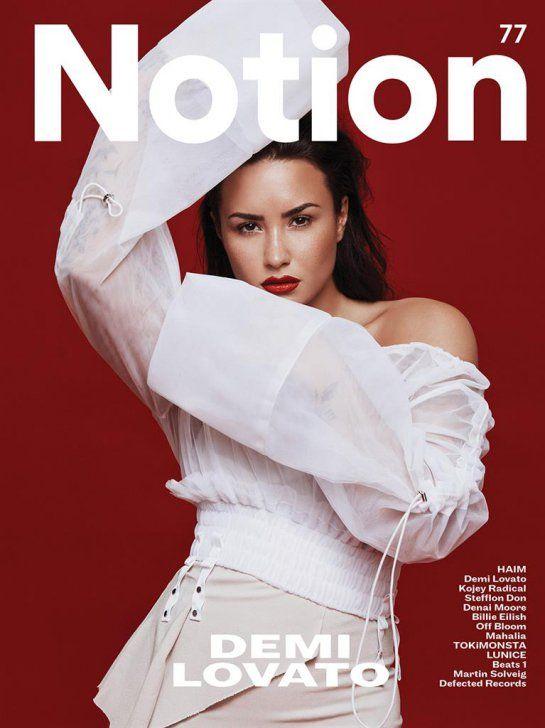 "Demi Lovato se abre sobre sua ""Carreira muito narcisista"" para a revista Notion Magazine - POP STATE"