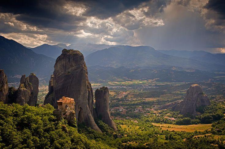 The Pindos Traverse, Greece Rousanou Monastery, Meteora, Greece