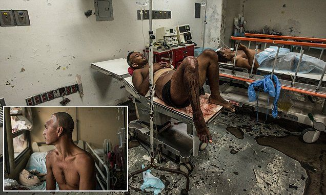 Inside Venezuela's crisis-hit hospitals where 7 babies die a day   Daily Mail Online And Americans are for Bernie=Socialism, ummm NO thank you!!!