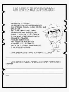ATIVIDADES EDUCATIVAS: PROJETO  MONTEIRO LOBATO /SÍTIO DO PICA PAU AMAREL...