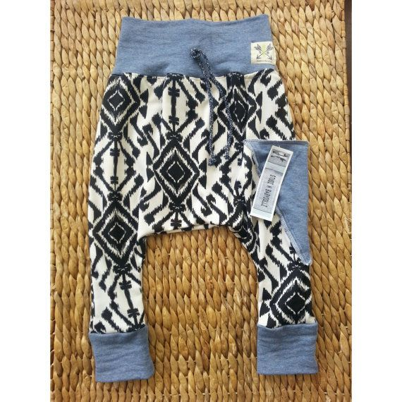 Tribal Baby Harem Black and White.. Toddler by StudzNBabydollz, $30.00