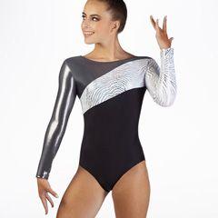 Alegra Girls Halley Long Sleeve Gymnastics Leotard