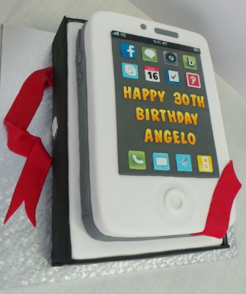 IPhone birthday cake Willi Probst Bakery Birthday cakes ...