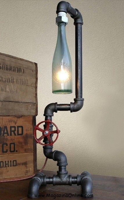You don't have to throw your used bottles. You can reuse them. There are many ways how to reuse them. The one that we think is interesting to do is bottle lamps. Big bottles, small bottles, any kind of bottles are useful to make a bottle lamp. It is even better if the bottles are colored  ...