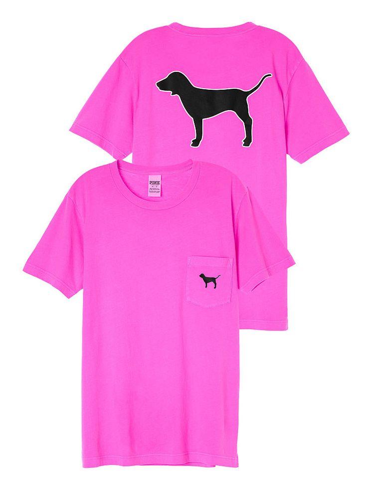 Campus Short Sleeve Tee in Sassy Berry $28.95- PINK - Victoria's Secret