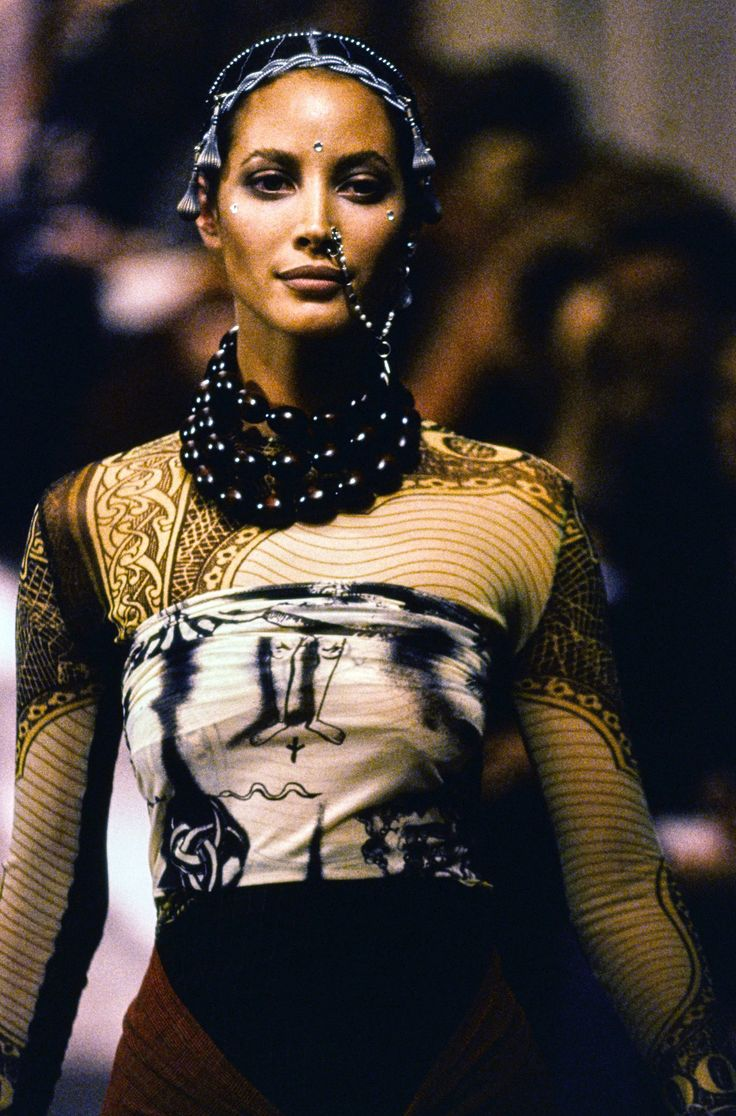 jean paul gaultier spring 1994 ready to wear fashion show. Black Bedroom Furniture Sets. Home Design Ideas