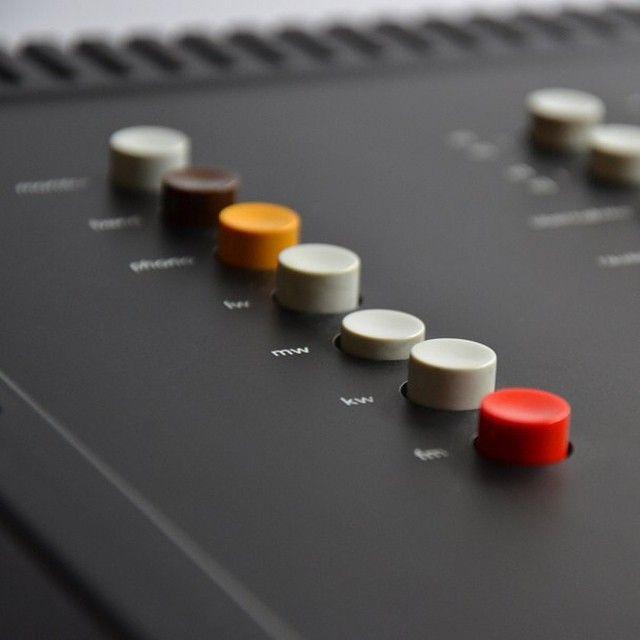 Braun Regie 308 Control Unit  Dieter Rams - 1973  #braun #braundesign #dieterrams #design #gooddesign #lessandmore