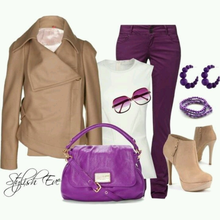 17 best images about color combinations purple brown - Brown and violet combination ...