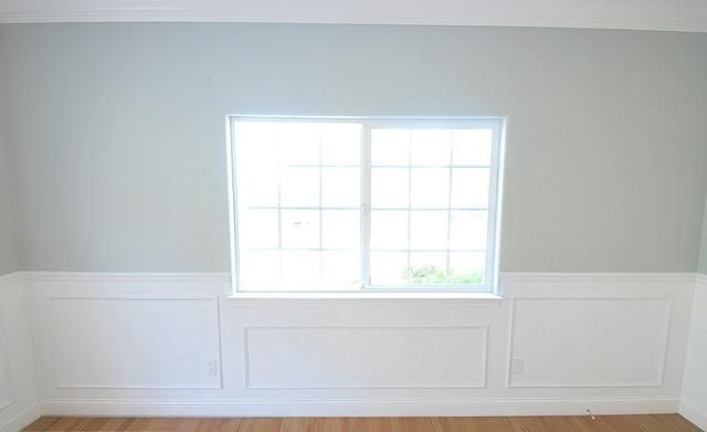 Panel And Picture Frame Wainscoting Diy Tutorial Crafts