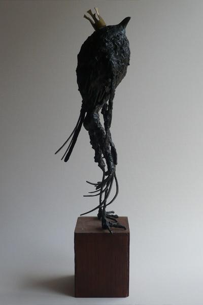 Tomohiro Inaba, king Bird, 500×150×150, ferro, 2005
