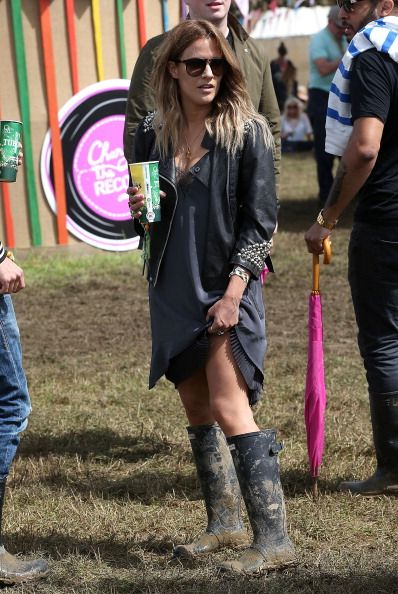 Glastonbury 2014: All The Best Dressed Celebrities, Festival Style | Festivals - Caroline Flack
