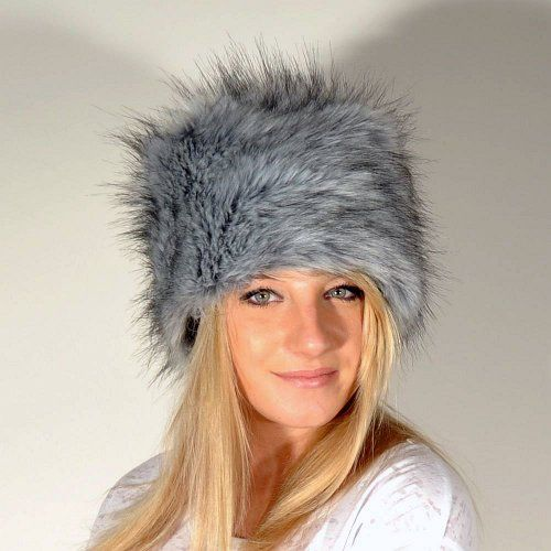 Faux Fur Cossak Russian Style Hat for Ladies Winter Hat for Women - http://fashionable.allgoodies.net/2014/12/faux-fur-cossak-russian-style-hat-for-ladies-winter-hat-for-women/