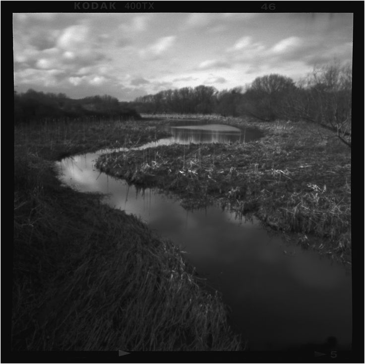 Pinhole in Cold Coffee | March 2015 | Graflex Speed Graphic 1950 - 0.4mm pinhole - Tri-X 120 ei320- Caffenol-C-L-14ºc 60mins] 600ml / 9.6g soda / 6g vit-c  / 0.6g potassium bromide / 24g Asda Rich Roast instant coffee / 14ºc 60mins stand development with 10 initial inversions for first minute.  First attempt at DIY pinhole. Lens board set at 60mm focal length giving effective aperture of f150, with reciprocity adjustment the exposure was 3secs.