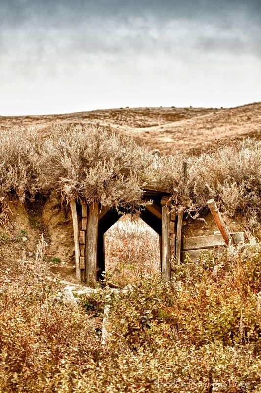 An old wooden pathway cut into a hill near Cypress Hills, Saskatchewan. Photo credit: Prairie Pixel Photography