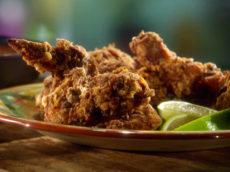 Chile-Lime Fried Chicken from FoodNetwork.com, Breaking Bad party