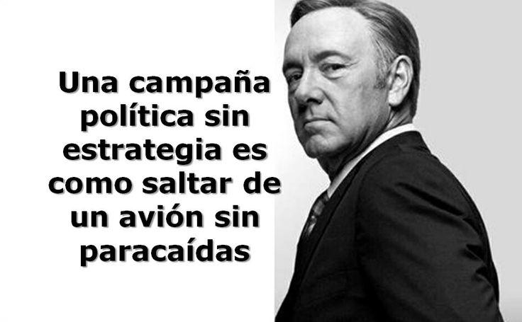 Viernes de #politips  La estrategia, el corazón de la campaña #compol #Politica #estrategia