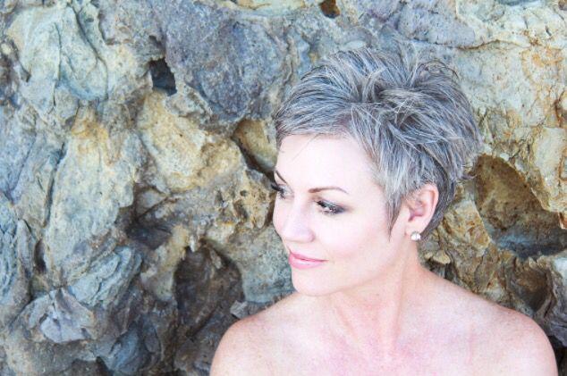 #shortgreyhair #pixie #silverhair #naturalcolor #unedited #billyyamaguchi #Ianbailey #jupitermediagroup #abbyparkermoneyhun