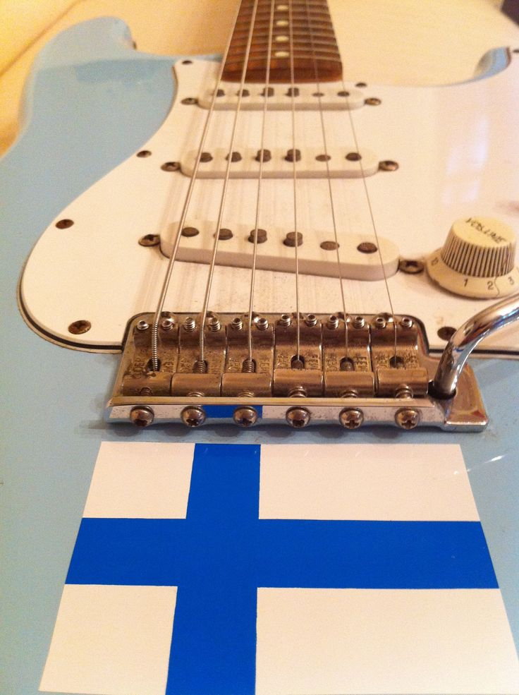 Fender Stratocaster daphneblue MX special order, with Esa Pulliainen signature (SOLD)