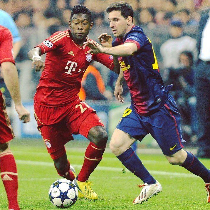 2️⃣ birthday boys. 💪 @da_27 #MiaSanMia #Alabooom #packmas #FCBayern #Birthday #Alaba #Messi