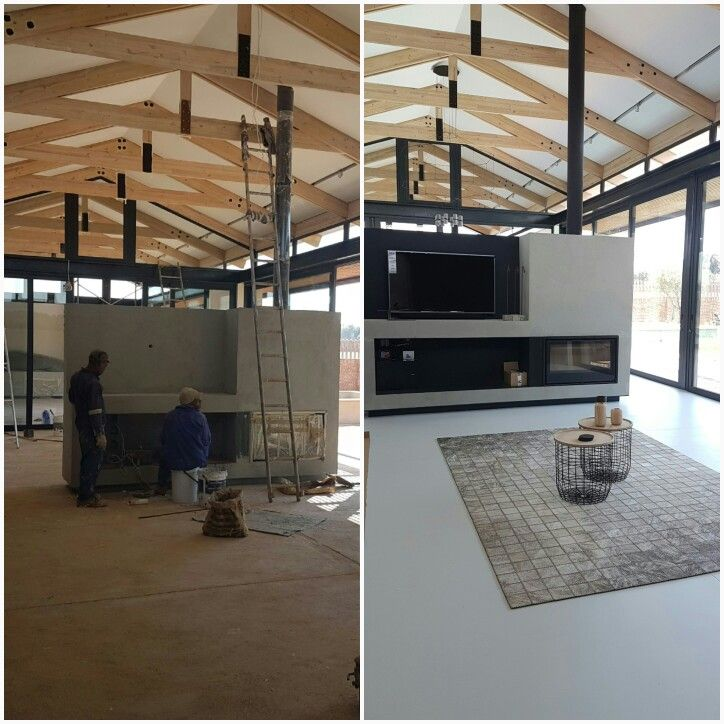 www.teracoat.co.za Teracoat seamless flooring  Before and after Colour ashwhite