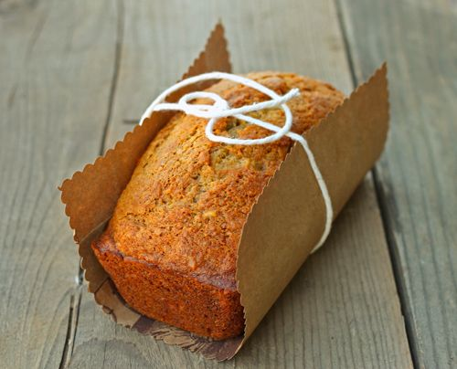 Recipe for 1 mini loaf of banana bread. Perfect for that single ripe banana I've been watching on my counter.... #DessertforTwo. This was a great way to use one ripe banana.