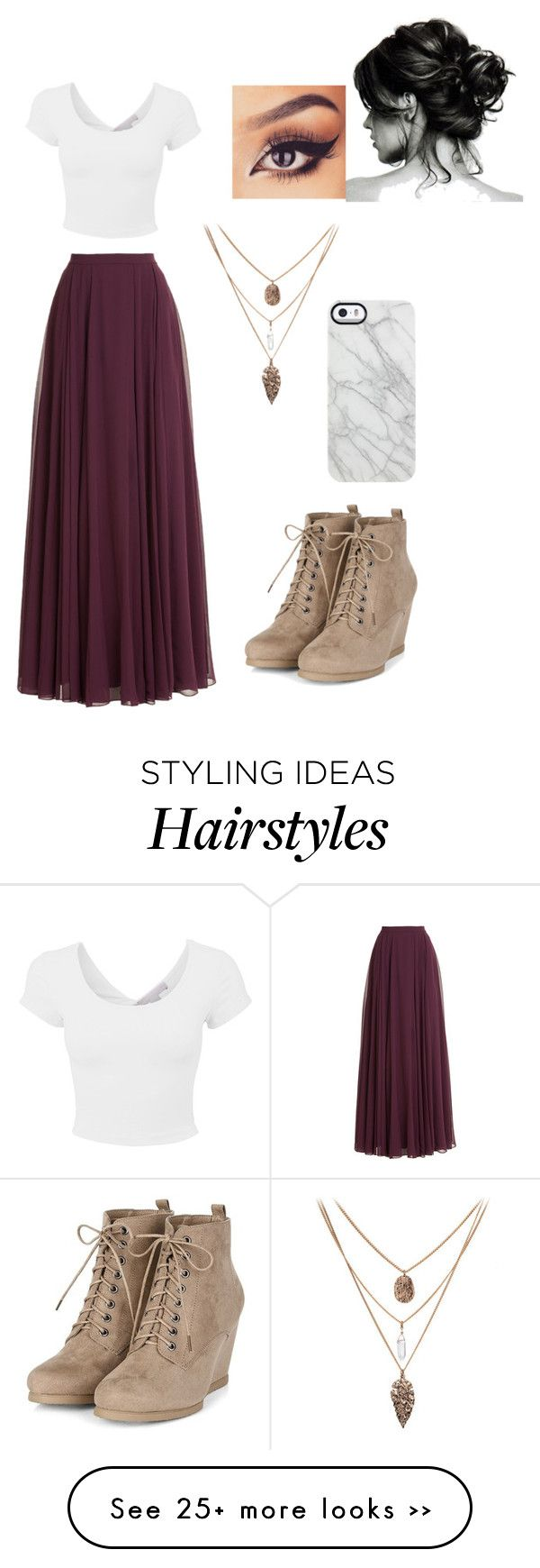 """""""Untitled #443"""" by lacrossequeen on Polyvore featuring Halston Heritage and Uncommon"""