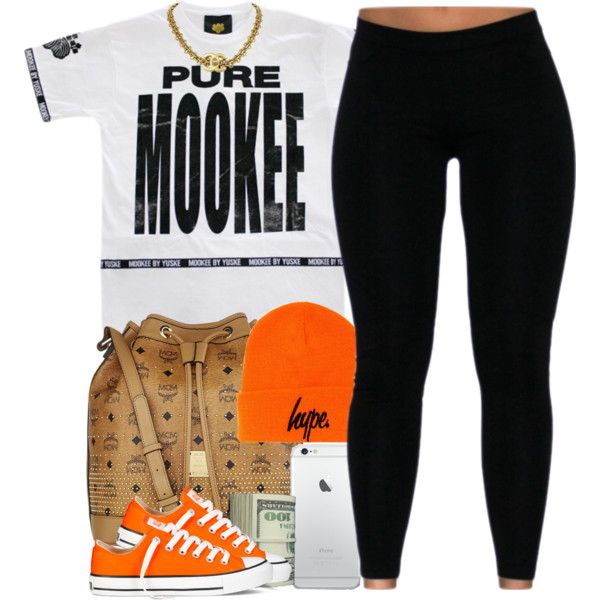 A fashion look from October 2014 featuring Converse sneakers and MCM tote bags. Browse and shop related looks.
