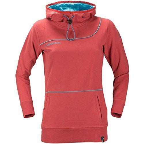 (ラスポルティバ) La Sportiva レディース トップス フード・パーカ Buttermilk Pullover Hoodie 並行輸入品  新品【取り寄せ商品のため、お届けまでに2週間前後かかります。】 カラー:Berry カラー:レッド