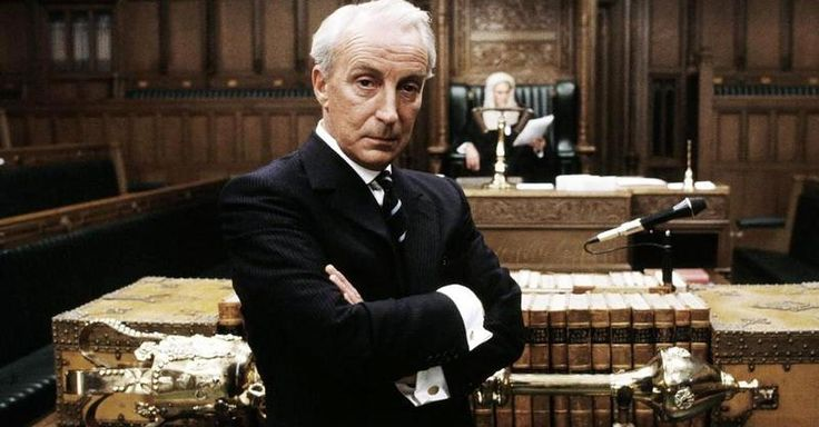 "Henry Collingridge (Ian Richardson) from ""House of Cards"". (BBC). One of the great villains in tv-history."
